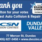 CSN Dundas Valley - Readers Choice Award 2020